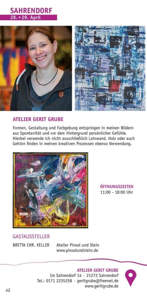 Broschüre HeideKultour 2081 - Atelier Gerit Grube