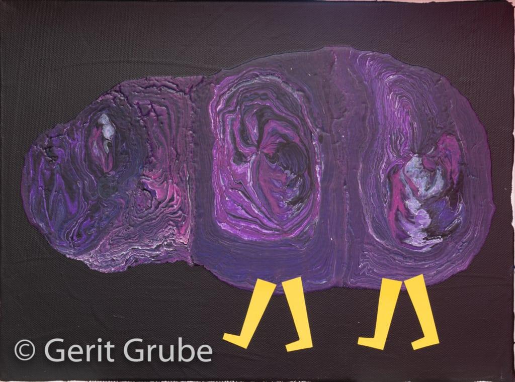 """Der Sahrendorfer Heidemull"" - 30 x 40 cm - Gerit Grube"