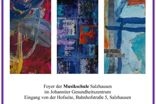 """Flyer Ausstellung """"Wider Die Vernunft"""" Salzhausen 2019"""