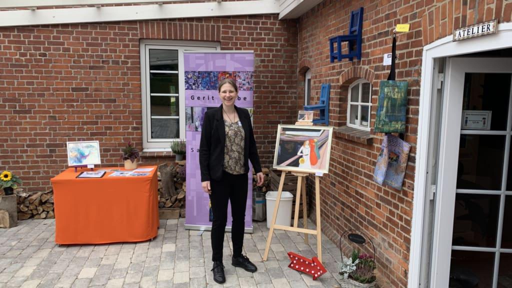 """Gerit Grube - Ausstellung """"Der Kunst begegnen August/September 2021 - Atelier Sahrendorf"""