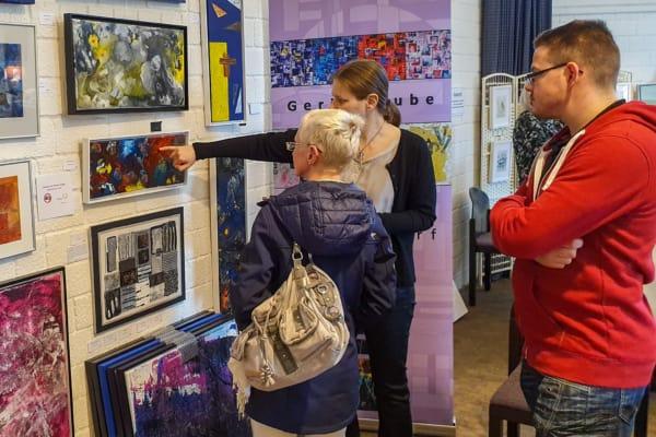 Kunsthandwerkermarkt im Freilichtmuseum am Kiekeberg März 2019