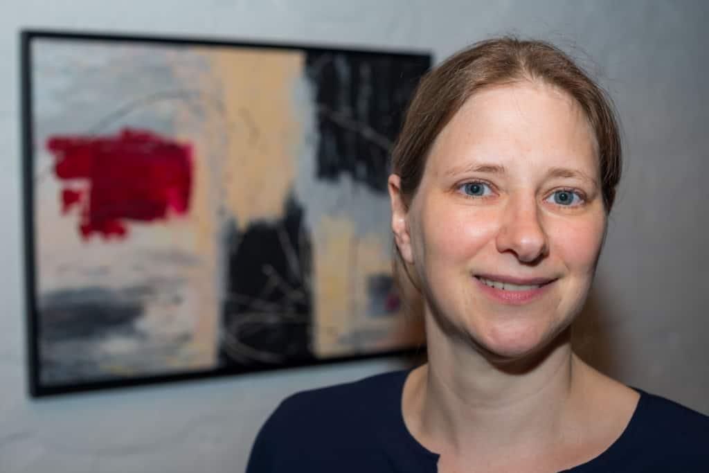Die Kunstmalerin Gerit Grube, Atelier Sahrendorf