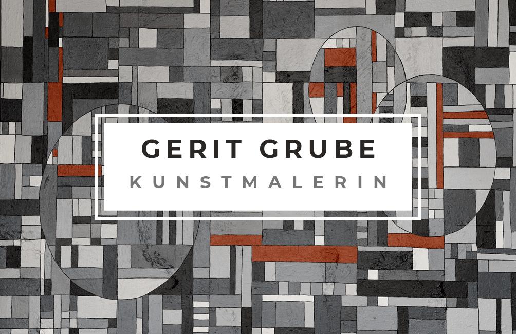 Logo Gerit Grube, Kunstmalerin