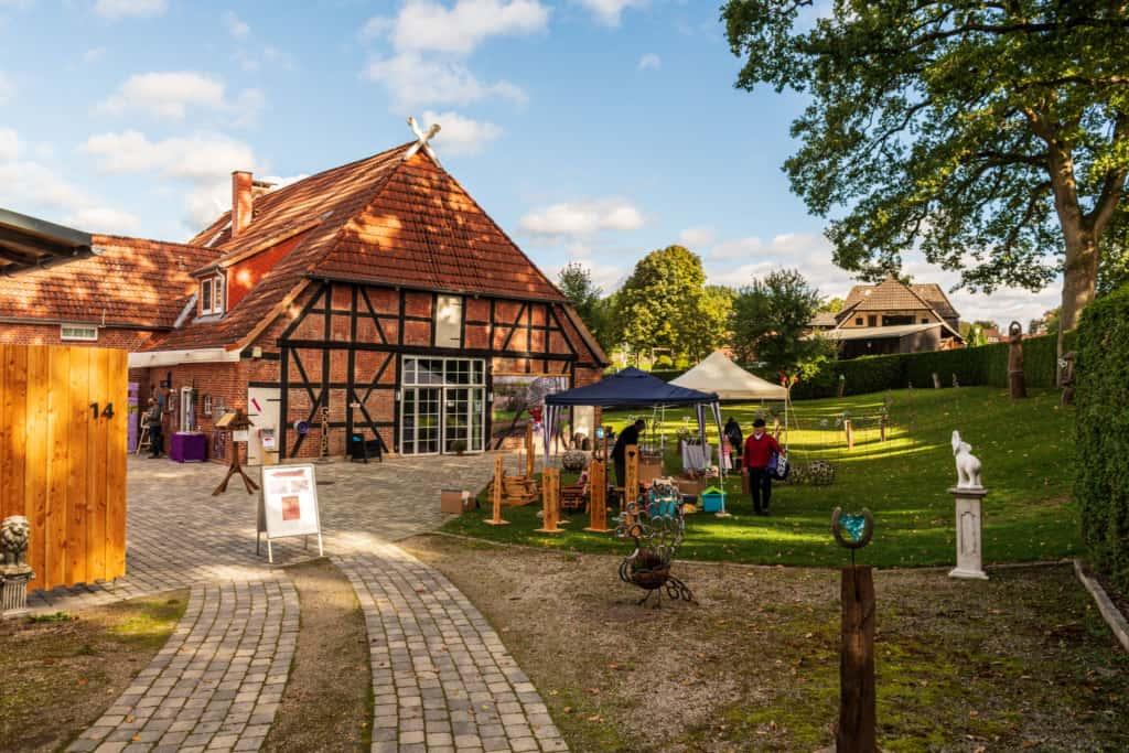 Offenes Atelier Gerit Grube in Sahrendorf 2020