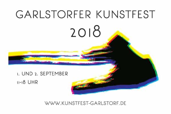 Postkarte Garlstorfer Kunstfest 2018