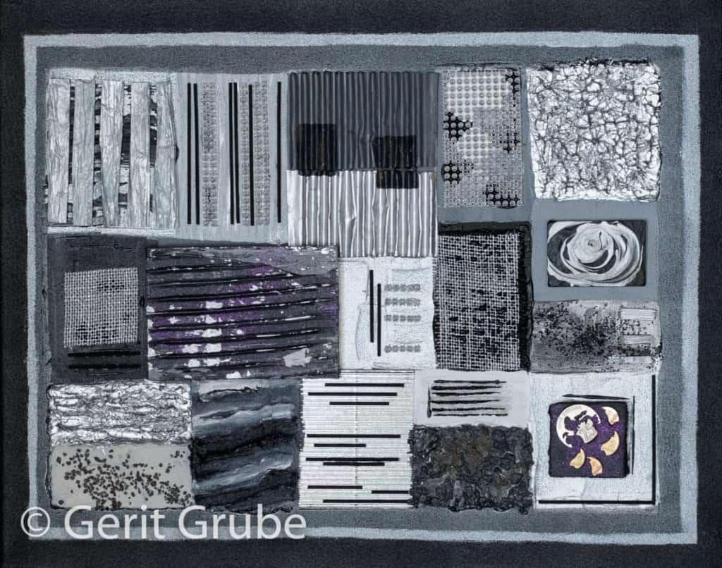Sichtweisen 2 - 40 x 50 cm im Schattenfugenrahmen - Gerit Grube