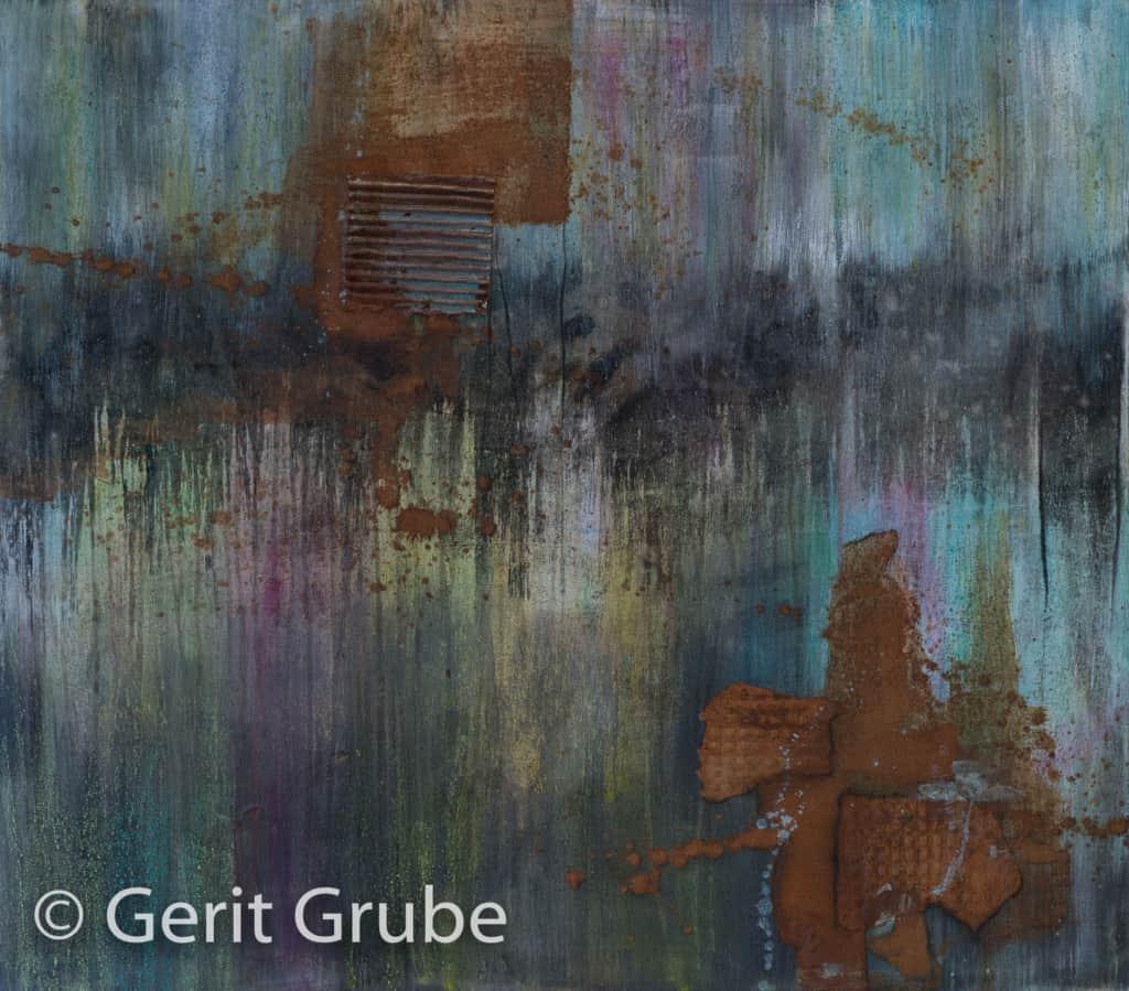 """""""Uneinigkeit"""" - 80 x 70 cm - Gerit Grube"""