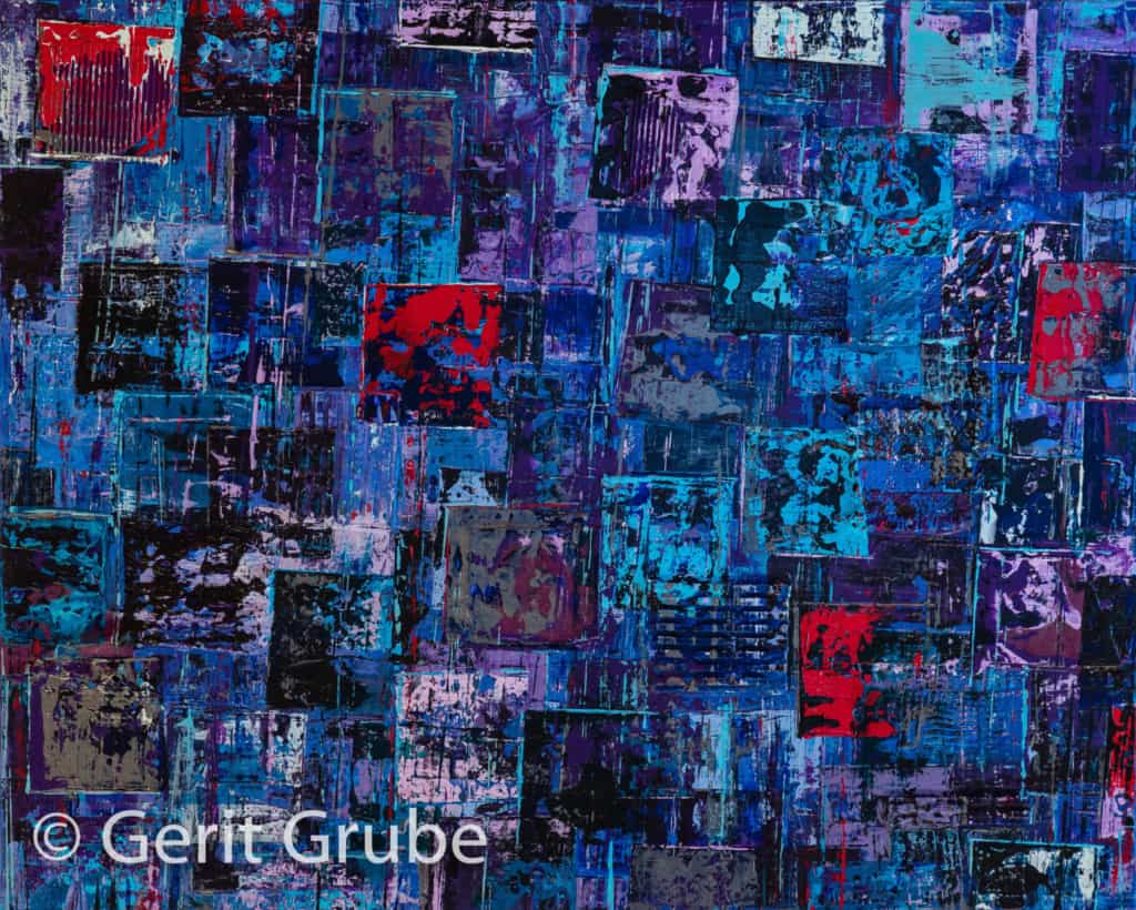 Wahrhaftigkeit 6 -80 x 100 x 4,5 cm - Gerit Grube