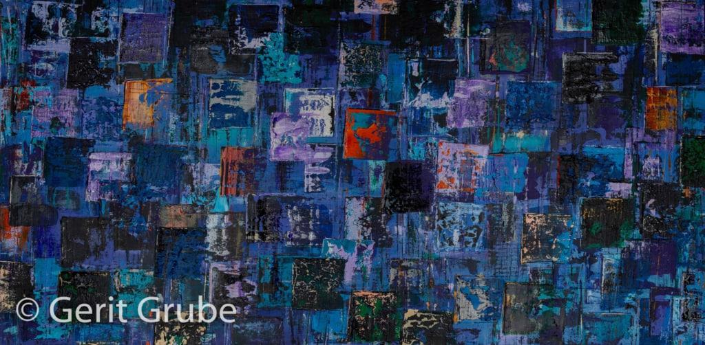 Wahrhaftigkeit 7- 70 x 140 x 4 cm - Gerit Grube