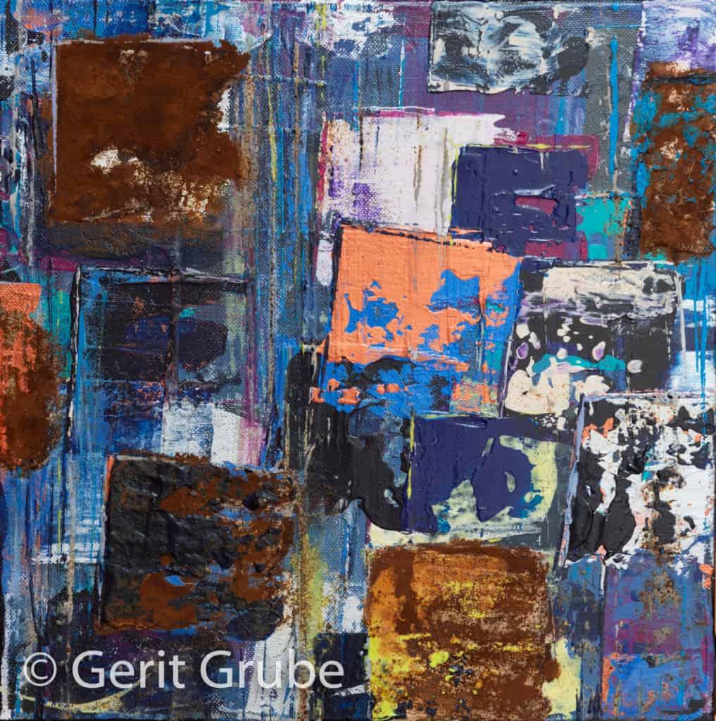 Wahrhaftigkeit 9 - 30 x 30 x 4,5 cm - Gerit Grube