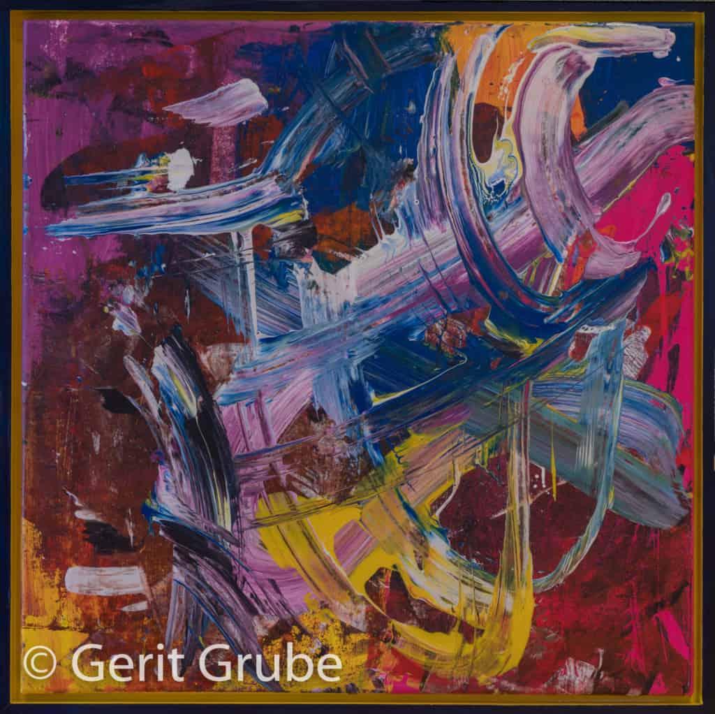 """""""Wider die Vernunft"""" - 65 x 65 cm - Gerit Grube"""